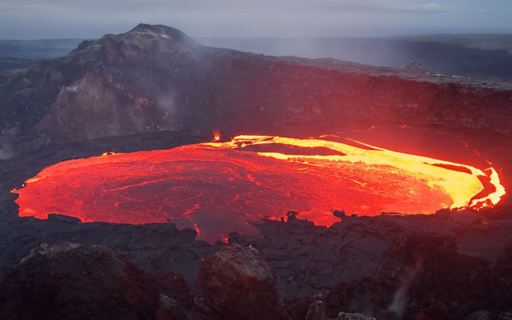 Nyiragongo Volcano in Democratic Republic of Congo